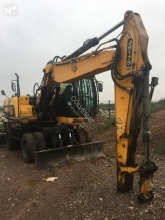 Pelle de manutention JCB JS175W