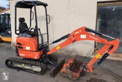 Kubota U15-3 mini-excavator second-hand