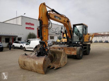 Hyundai HW140 used wheel excavator