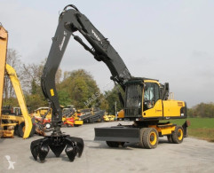 Volvo ew210c used wheel excavator