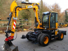 JCB HD 110 W excavator pe roti second-hand