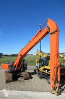 Hitachi 350 lc long reach excavator pe şenile second-hand