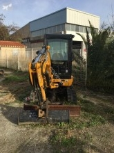 Mini escavatore JCB 8025