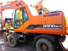 Doosan DX210 W DH210W-7 used wheel excavator