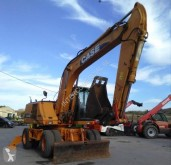 Case WX165 WX 165 used wheel excavator