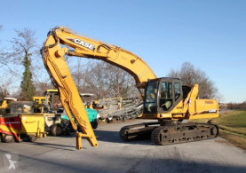 Case CX240B excavator pe roti second-hand