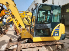 Komatsu PC56-7 mini-excavator second-hand