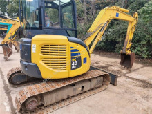Escavadora Komatsu PC40 PC40MR-2 mini-escavadora usada