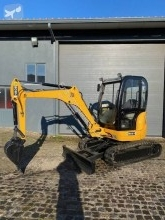 JCB 8027ZTS mini-excavator second-hand