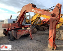 Poclain wheel excavator