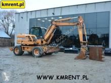 Excavadora Case WX 125 | KOMATSU PW 98 110 118 CAT M 312 LIEBHERR A 309 310 311 312 JCB JS 130 145 TEREX 42 HML 85 110 excavadora de ruedas usada