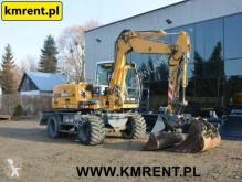 Liebherr A 309 | 310 311 312 KOMATSU PW 98 110 118 CAT M 312 JCB JS 130 145 TEREX 42 HML 85 110 tweedehands graafmachine op banden