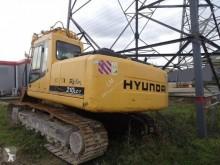 Hyundai R210 LC used track excavator