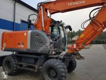Hitachi ZX140W excavator pe roti second-hand