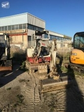 Takeuchi TB 128 FR mini-excavator second-hand