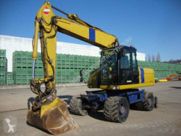 Caterpillar M318D used wheel excavator