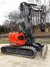 Excavadora Eurocomach ES95TR4 excavadora de cadenas usada
