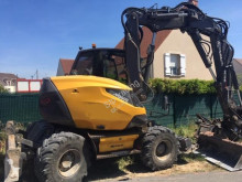 Excavadora Mecalac 15MWR excavadora de ruedas usada