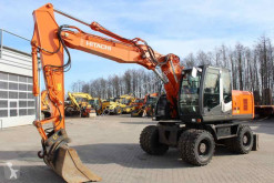 Excavadora Hitachi - Zaxis 170W-3 excavadora de ruedas usada