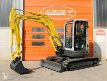 New Holland e50.2sr used mini excavator