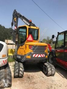 Volvo ECR58 ECR58D used track excavator
