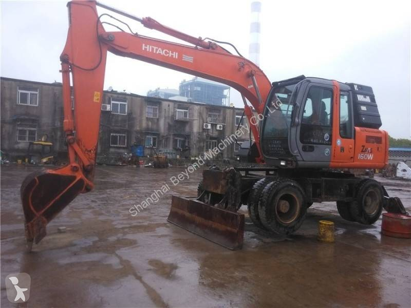 View images Hitachi ZX160W excavator