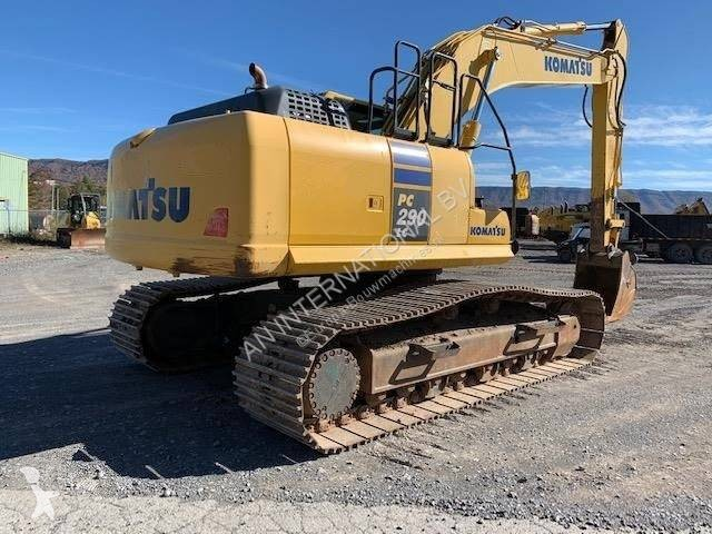 View images Komatsu PC290LC-10  excavator