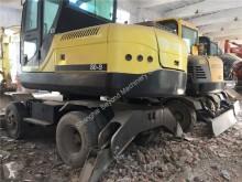 escavadora de rodas usado