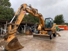 Case WX165 excavator pe roti second-hand