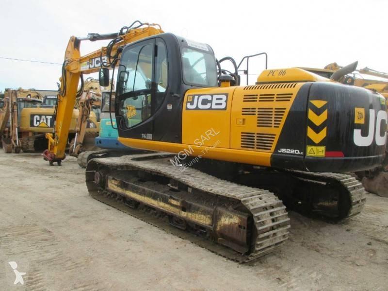 View images JCB JS220LC  excavator