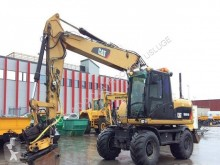 Caterpillar M316D Mono used wheel excavator