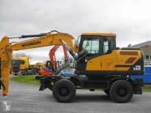 Hyundai HW140 new wheel excavator