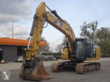 Caterpillar 323 FL Kettenbagger mit Schnellwechsel TOP! pásová lopata použitý