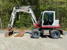 Takeuchi wheel excavator