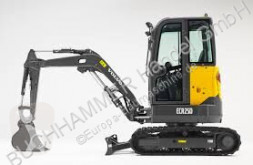 Excavadora Volvo ECR 25D miniexcavadora usada