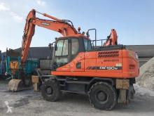 Excavadora Doosan DX190 W excavadora de ruedas usada