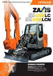 Hitachi ZX 85USBLCN-3 mini pelle occasion