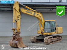 Komatsu PC20 0 en -6k good undercarriage - full option excavator pe şenile second-hand