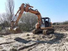 Case CX135SR excavator pe şenile second-hand