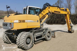 Liebherr A316 used wheel excavator