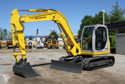 Excavator New Holland e80-1es second-hand
