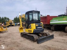 Komatsu pc55mr mini-excavator second-hand