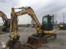 Komatsu PC88MR-8 mini-escavadora usada