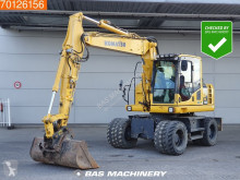 Komatsu PW148 -8 Low hours - All functions excavator pe roti second-hand