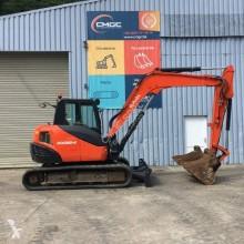 Excavadora Kubota KX080-4 miniexcavadora usada