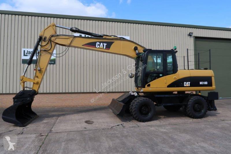View images Caterpillar 318D excavator