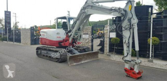 Минибагер Takeuchi TB 290 MS08 ROADLINER Kamera