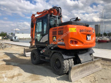 Hitachi ZX 140 W-6 used wheel excavator