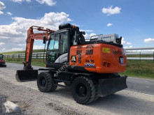 Hitachi ZX170W used wheel excavator