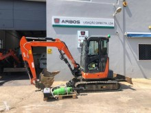 Hitachi ZX38U3 2017 used mini excavator